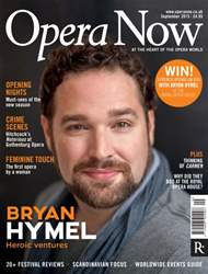 Opera Now issue September 2015