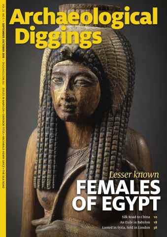 Archaeological Diggings issue Sept/Oct 2015