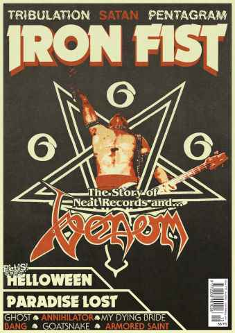 Iron Fist issue SepOct 15