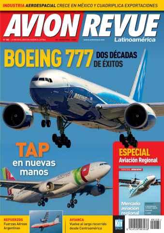 Avion Revue Internacional Latino issue Número 188