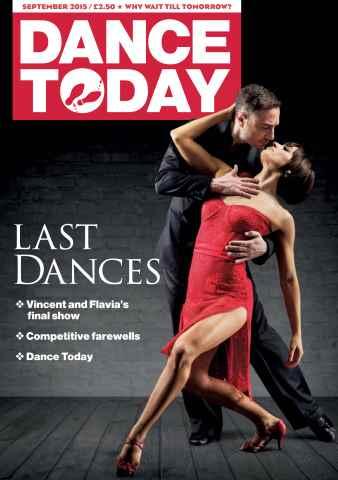 Dance Today issue September 2015