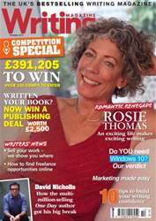 Writing Magazine issue October 2015