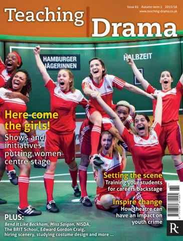 Teaching Drama issue Autumn 1 - 2014/15