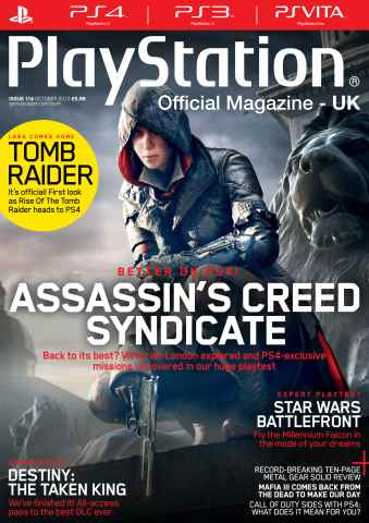 Playstation Official Magazine (UK Edition) issue October 2015