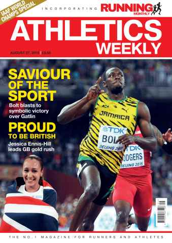 Athletics Weekly issue 27 August 2015