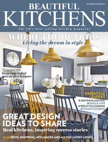 Beautiful Kitchens issue October/November 2015