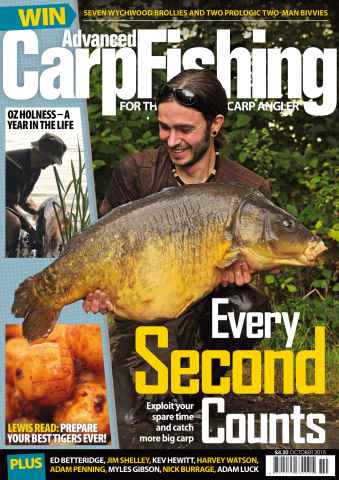 Advanced Carp Fishing issue October 2015