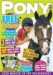 Pony Magazine issue PONY Magazine – October 2015