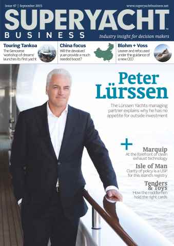 SuperYacht Business issue September 2015