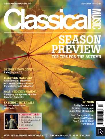 Classical Music issue September 2015