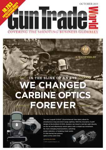 Gun Trade World issue October 2015
