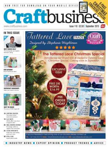 Craft Business issue Sep-15