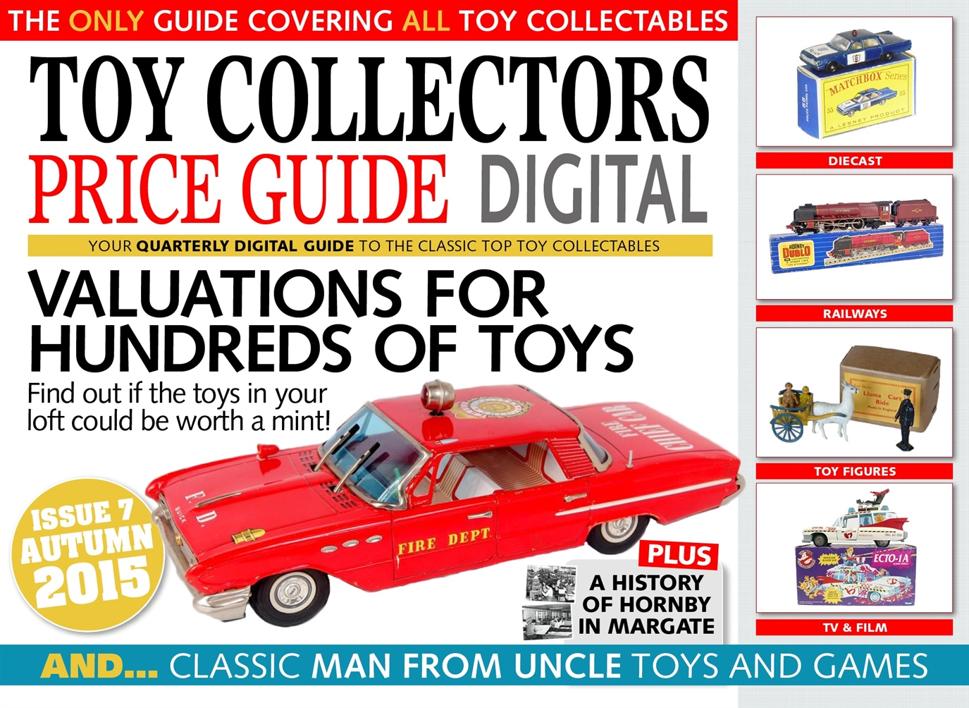 Toy Collectors Price Guide issue Autumn 2015