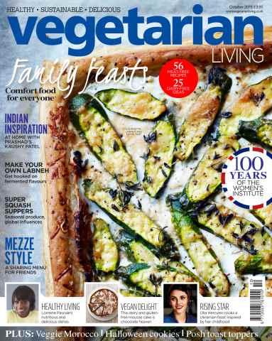 Vegetarian Living issue Oct-15