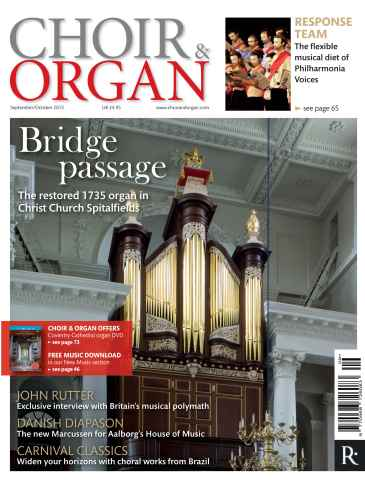 Choir & Organ issue Sept - Oct 2015