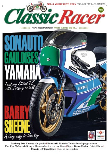 Classic Racer issue May - June 2016