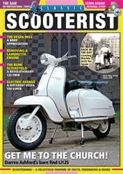 Classic Scooterist issue Apr - May 2016
