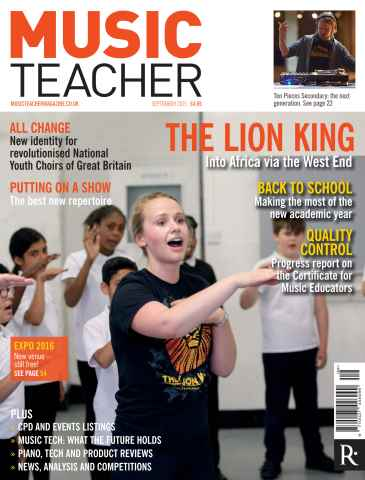 Music Teacher issue September 2015
