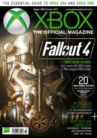 Official Xbox Magazine (UK Edition) issue October 2015