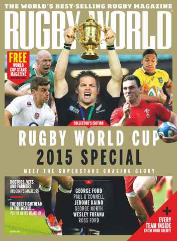 Rugby World issue October 2015