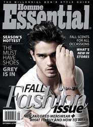 Essential Homme issue September-October 2011
