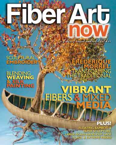 Fiber Art Now issue Fall 2015