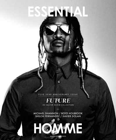 Essential Homme issue August-September 2015