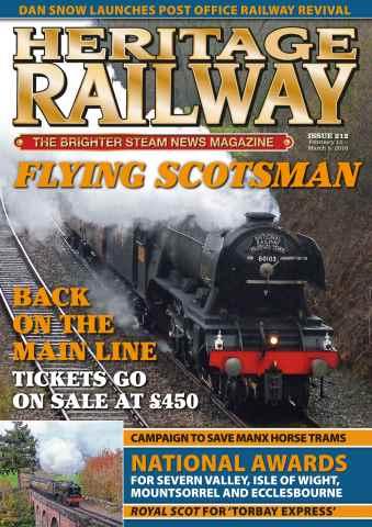 Heritage Railway issue HR212