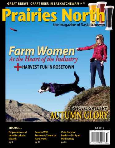 Prairies North Magazine issue Fall 2015
