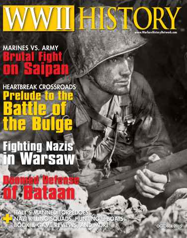 WW2 History Magazine issue October 2015