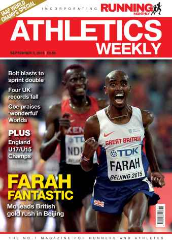 Athletics Weekly issue 03 September 2015
