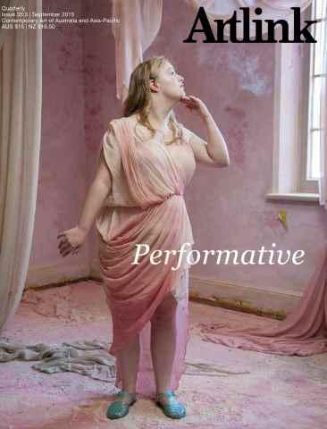 Artlink Magazine issue Performative