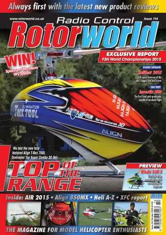 Radio Control Rotor World issue Oct 114