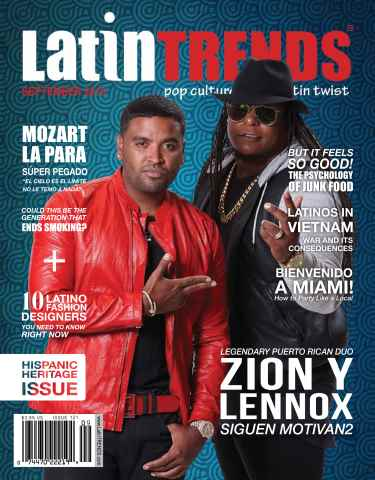 Latin Trends issue issue 121