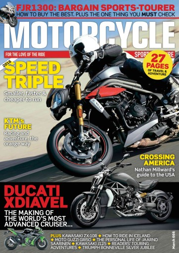 Motorcycle Sport & Leisure issue March 2016