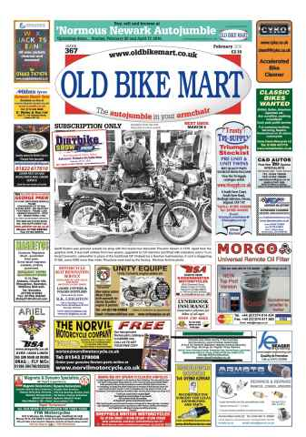 Old Bike Mart issue February 2016