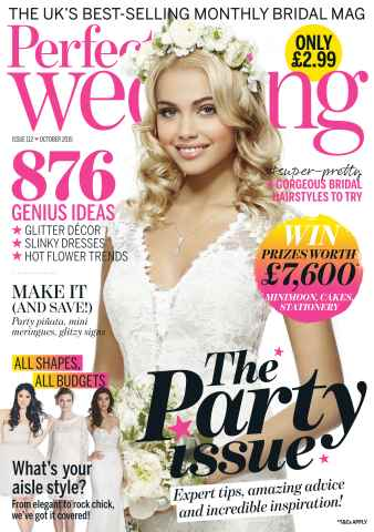 Perfect Wedding issue October 2015