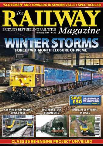 Railway Magazine issue February 2016