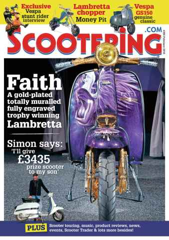 Scootering issue February 2016
