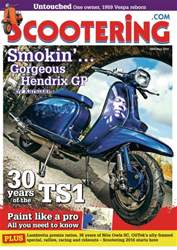 Scootering issue May 2016