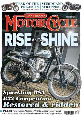The Classic MotorCycle issue March 2016