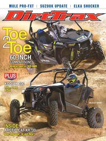 Dirt Trax Magazine issue Volume 17 Number 1