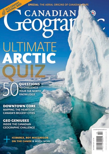 Canadian Geographic issue October 2015