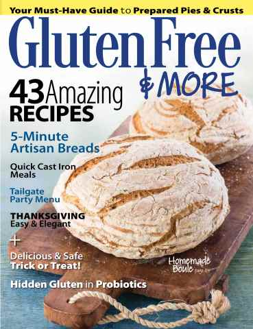 Gluten Free & More issue Oct/Nov 2015