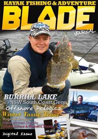 Blade Kayak Fishing Journal issue Issue 20