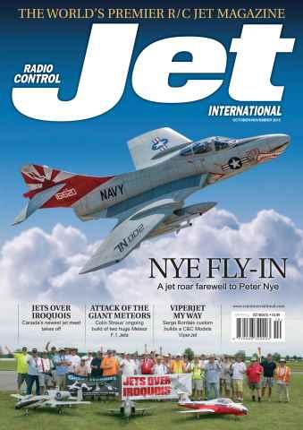 Radio Control Jet International issue October/November 2015