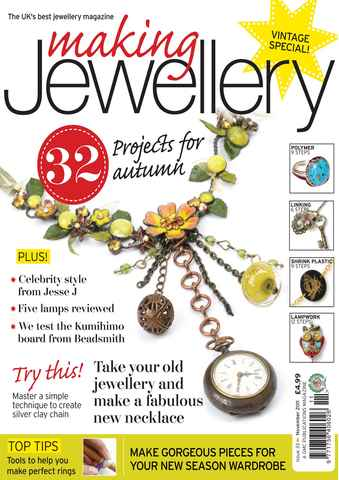 Making Jewellery issue November 2011