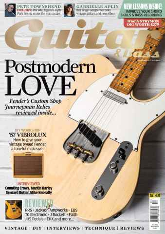 Guitar & Bass Magazine issue Oct-15