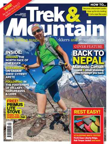 Trek & Mountain Magazine issue Sep-15
