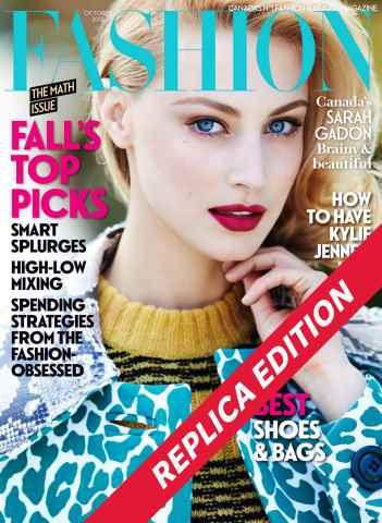 Fashion Magazine issue October 2015